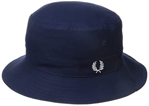 ef069c087 Fred Perry Men's Oxford Reversible Fisherman's Hat, Light Smoke, One ...