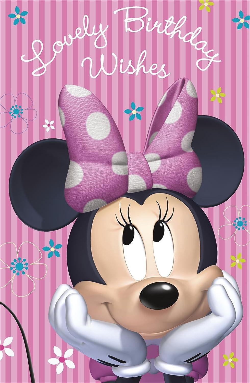 Amazon.com: Lovely deseo de cumpleaños Disney Minnie Mouse ...
