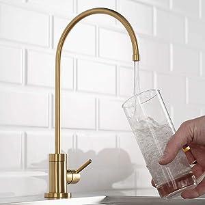 Kraus FF-100BB Purita 100% Lead-Free Kitchen Water Filter Faucet, Brushed Bronze