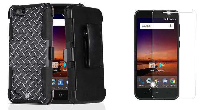 Amazon com: ZTE ZFive G LTE Z557BL - Bundle: Dual Layer