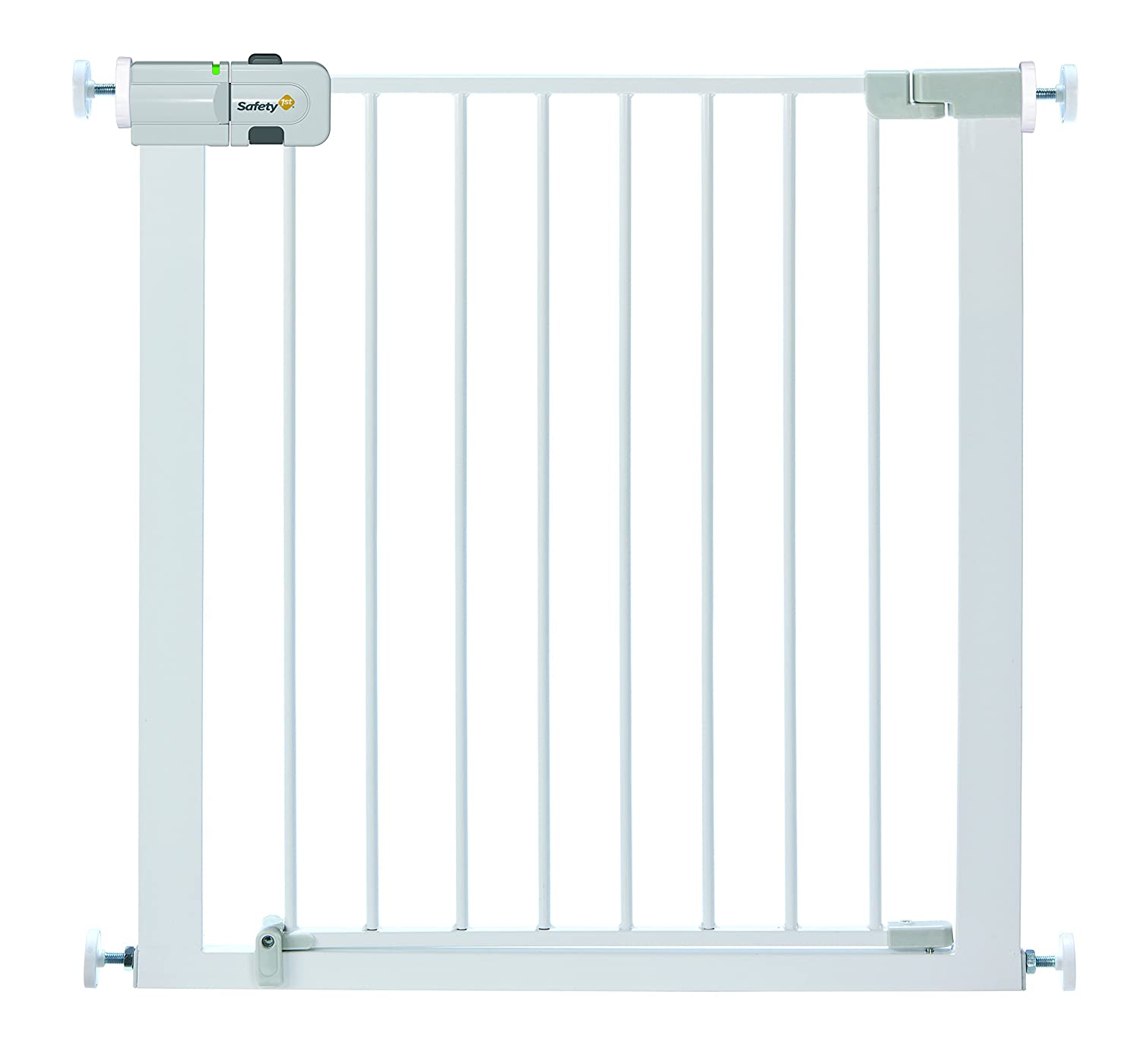 Barrera de puerta de metal, color blanco por solo 33,99€