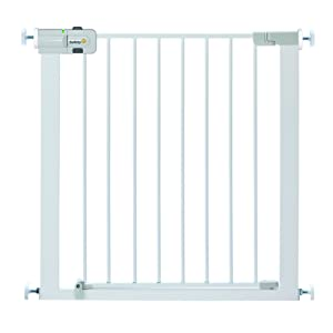 Safety 1st U-Pressure Barriere Métal Blanc