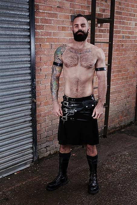 Mister B goma hebilla falda para hombres, XL: Amazon.es: Salud y ...