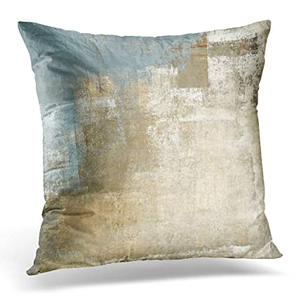 Amazon Breezat Throw Pillow Cover Brown Contemporary Grey And Amazing Gray And Beige Decorative Pillows