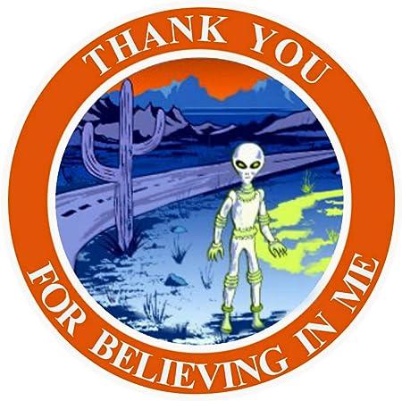 Thank You. Parche bordado de Alien, tipo X-Files, platillo ...