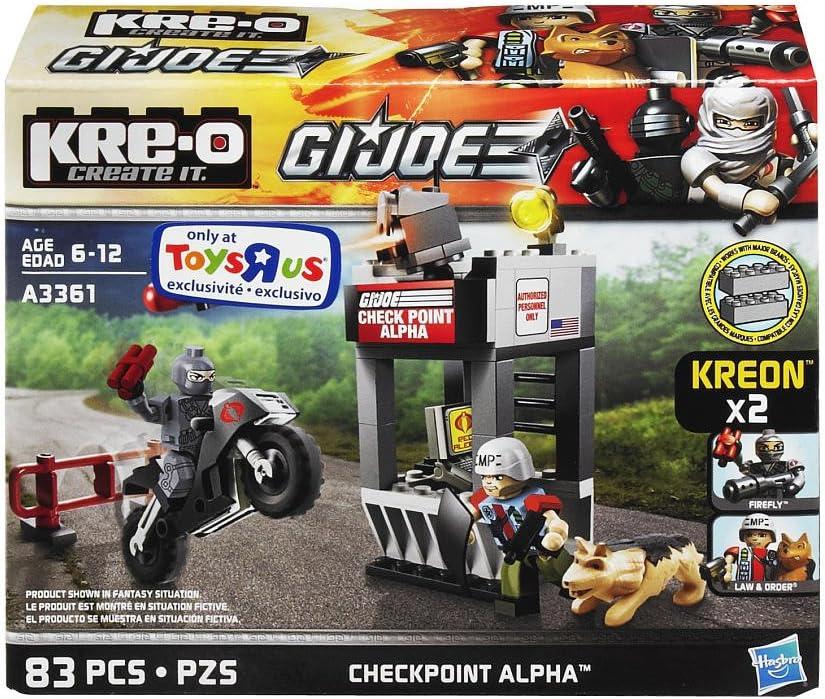 KRE-O G.I.Joe Checkpoint Alpha Law & Order Firefly by hasbro ...