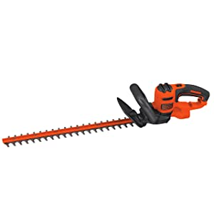 BLACK+DECKER BEHT350FF Hedge Trimmer, Orange