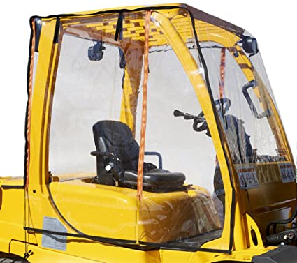 amazon com atrium by eevelle full forklift cab enclosure sports