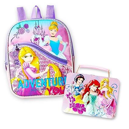 amazon com disney princess preschool backpack toddler 11 with