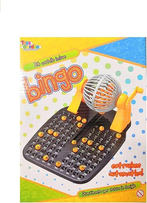 Bingo tómbola juego de mesa con 24 Carpetas beneficio de ...