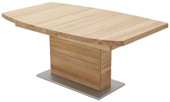 Robas Lund Tisch/Esszimmertisch, Corato B, Kernbuche/Massivholz, 180 x 100 x 77 cm