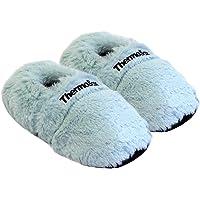 Thermo Sox Pantofole riscaldabili Ciabatte con Semi per microonde e Forno Misura EU36-45 – Pantofole per microonde Ciabatte Calde Scaldapiedi