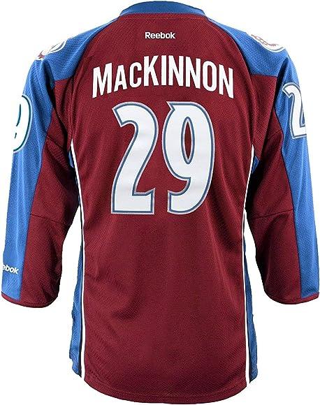 official photos c6300 80467 Nathan MacKinnon Colorado Avalanche Burgundy NHL Youth Reebok Home Replica  Jersey