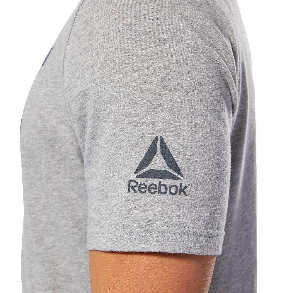 Reebok Herren UFC Fg Logo Tee Hemd