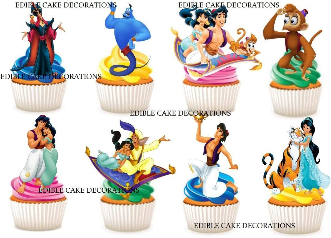 Cupcake Toppers Decorations 30 Baseball Edible Rice Paper Cake