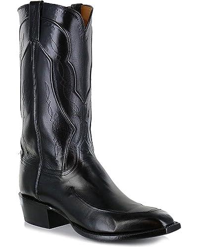40b77c302cc Amazon.com | Lucchese Men's Handmade Kangaroo Leather Western Boot ...