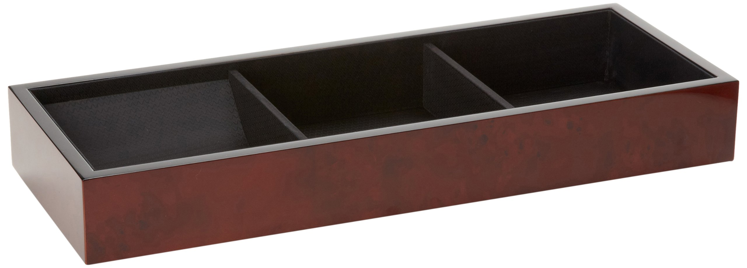 Wolf Designs WOLF 460210 Meridian Top Tray, Burlwood