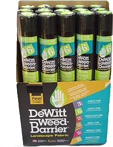 Dewitt Miracle Mat 3-Foot by 50-Foot Weed Buster 6YR350