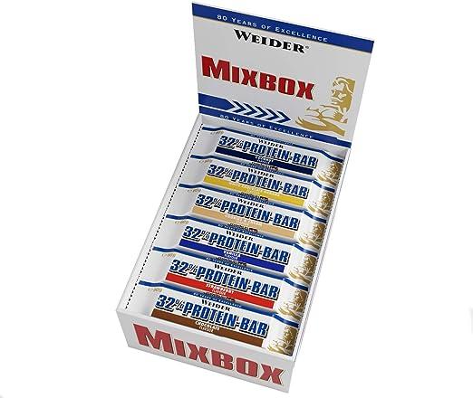 Weider Mix Box 32% Bar 24 x 60 gr 24 Unidades 1440 ml