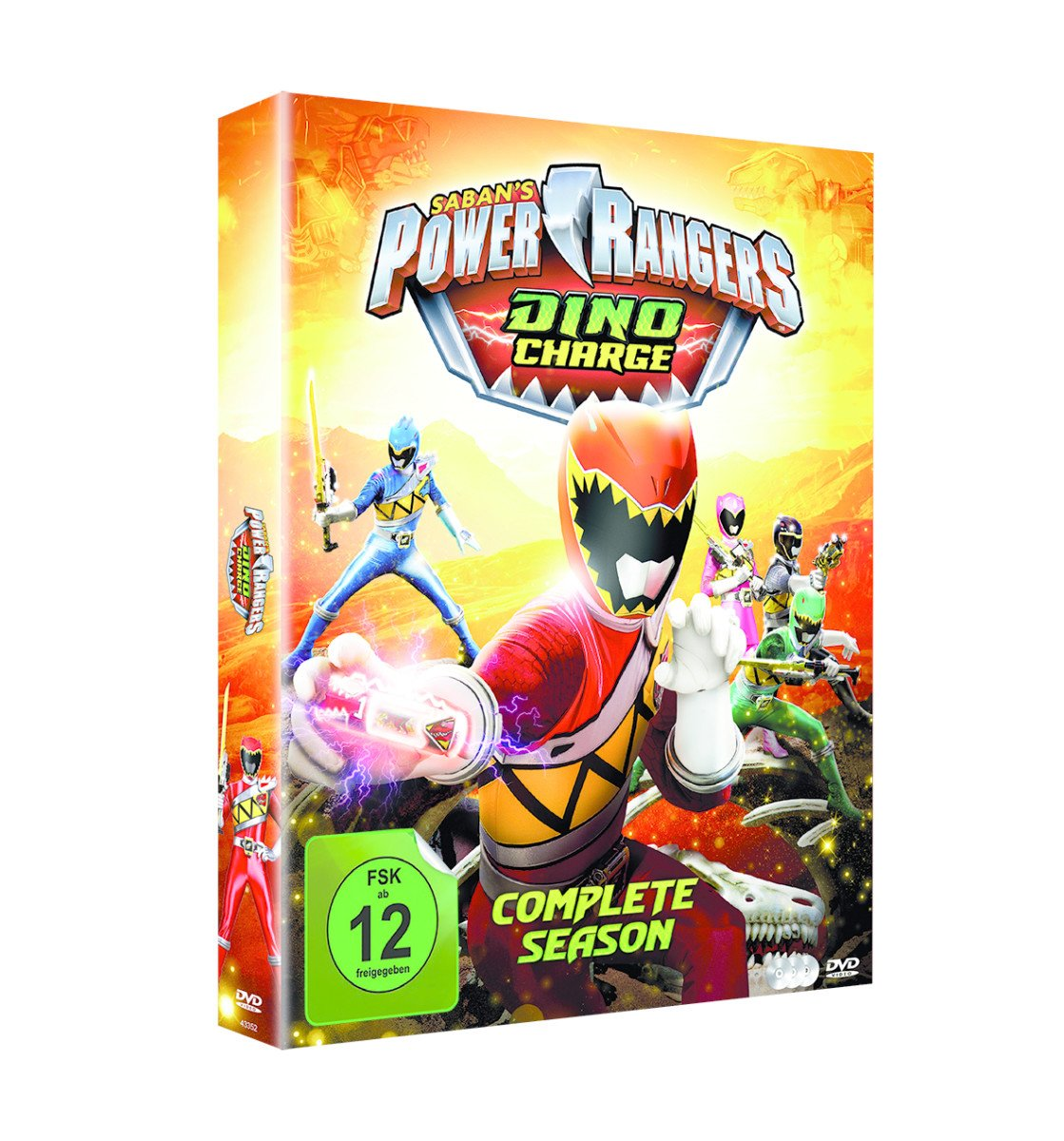 Power Rangers - Dino Charge: Complete Season Alemania DVD ...