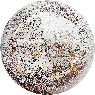 LIOOBO 16 Pouces Ballon De Plage Transparent PVC Balle Eau Jouet Été Funny Water Fun Play pour Enfants Enfants