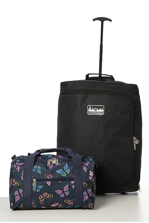 Ryanair equipaje de mano m‡ximo fijado - Trolley 55x40x20 cm 35x20x20cm + 2 cabinas