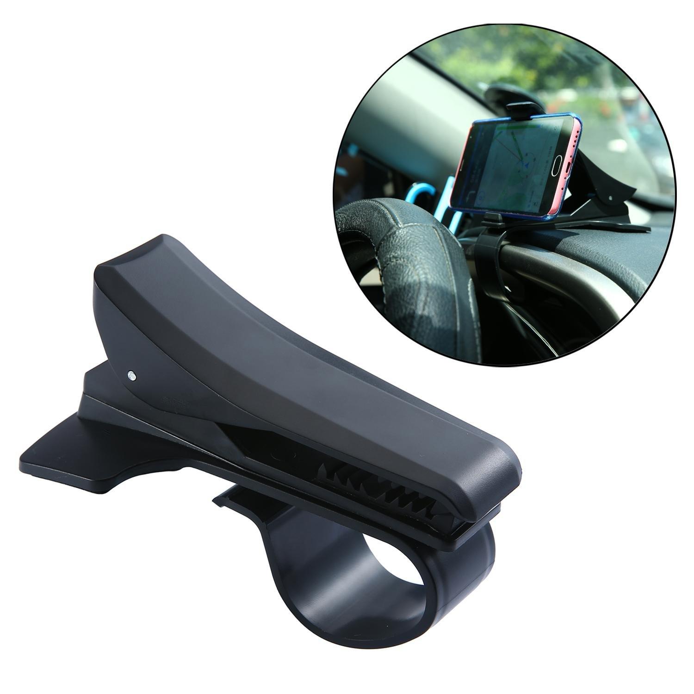niceEshop(TM) Voiture Tableau de Bord Porte-mat Pad Antidé rapant Collant pour Té lé phone Portable GPS (Noir)