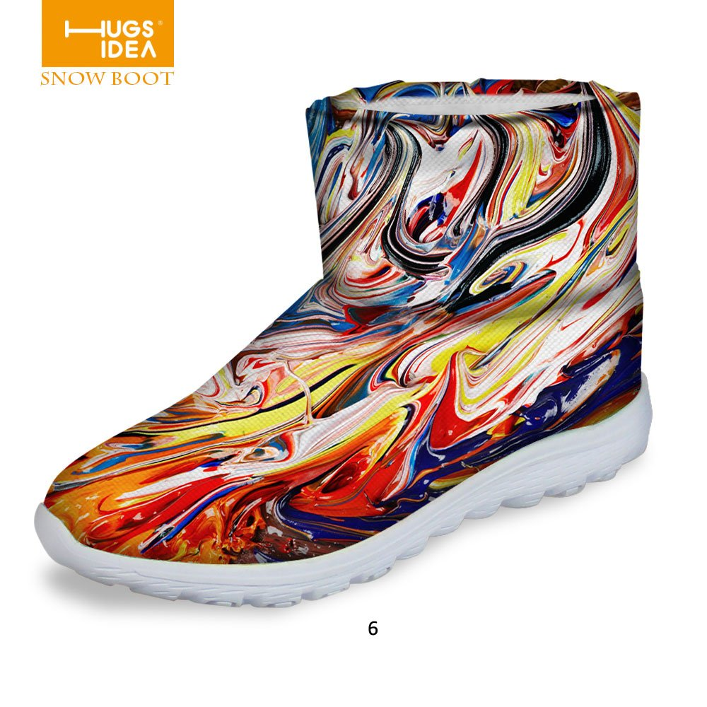 FOR U DESIGNS Fashion Womens Warm Winter Snow Boots Waterproof Footwear Ankle Boots HA0011AF