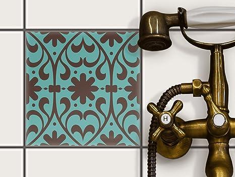 Decorare piastrelle bagno great come posare le piastrelle for Decorazioni autoadesive