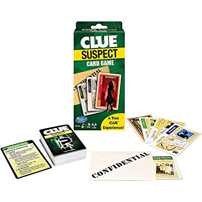 Clue Suspect Card Game - All The Fun of Clue - in Minutes!: Toys & Games