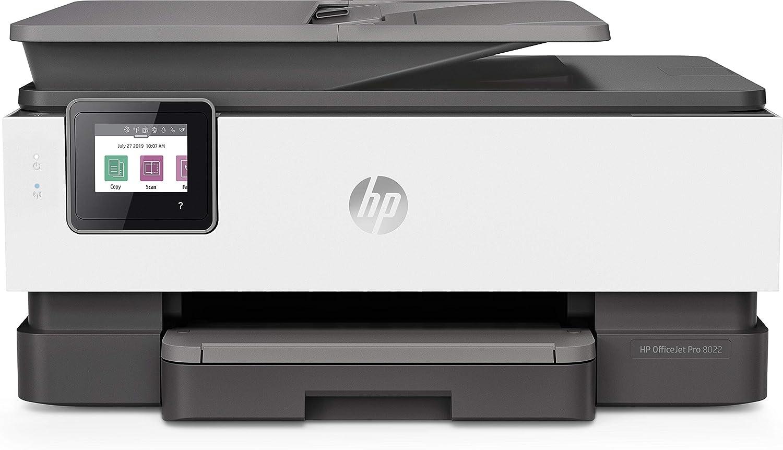 HP OfficeJet Pro 8022 - Impresora Multifunción de Tinta (20 ppm ...
