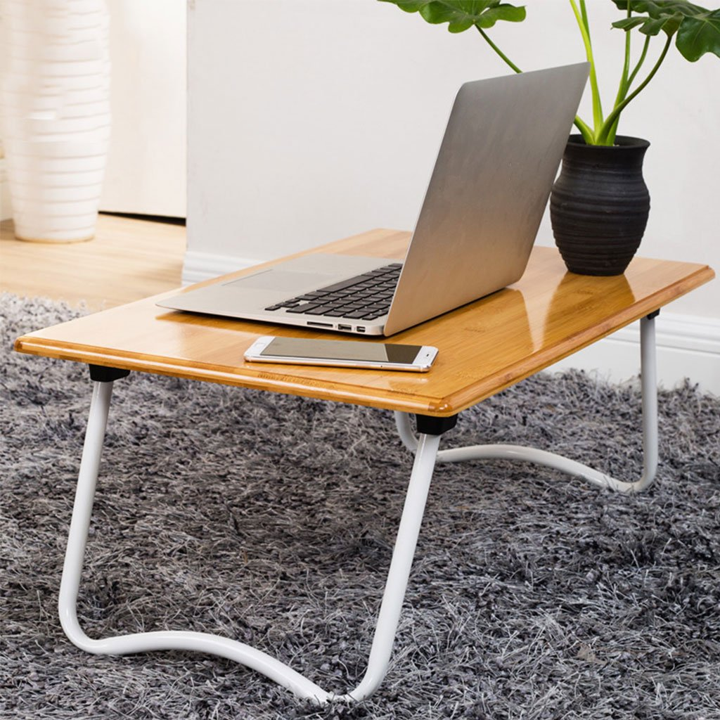KKY-ENTER シンプルな折り畳みテーブルホームベッドラップトップテーブル折り畳み式の小さなテーブル学生寮の学習デスク (サイズ さいず : L70*W40*H27cm) B07DKCPZ2WL70*W40*H27cm