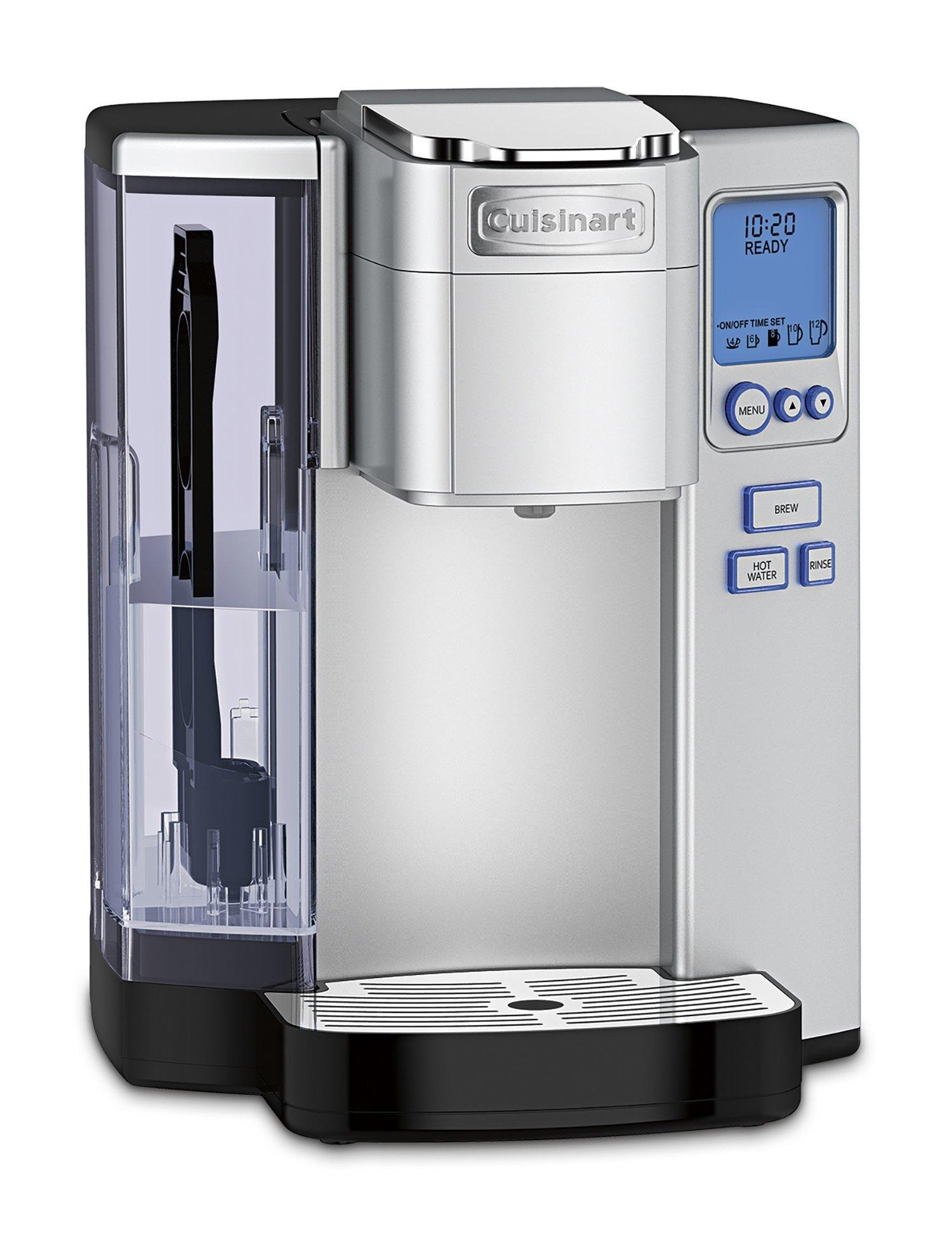 Cuisinart SS-10 Premium Single-Serve Coffeemaker, Silver by Cuisinart