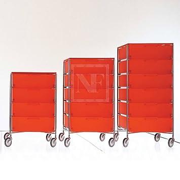 Kartell 2040l7 Container Mobil 6 Schubladen Blau Amazonde Küche