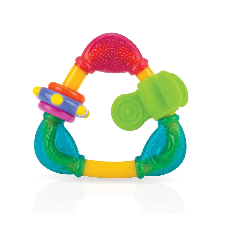 Nuby Spin N' Teethe, Multi-coloured 536643