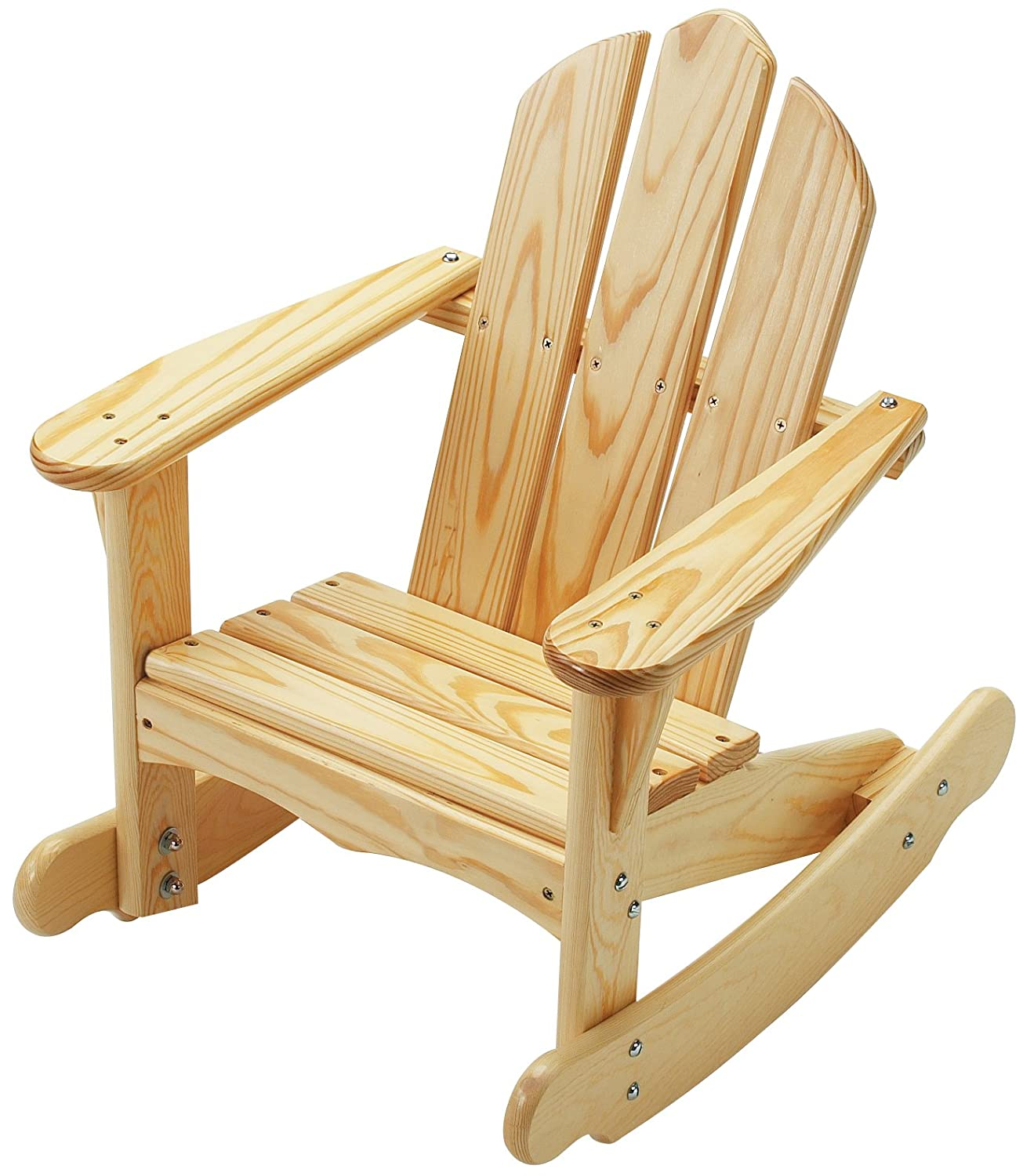 Outstanding Little Colorado Childs Adirondack Rocking Chair Unfinished Lamtechconsult Wood Chair Design Ideas Lamtechconsultcom