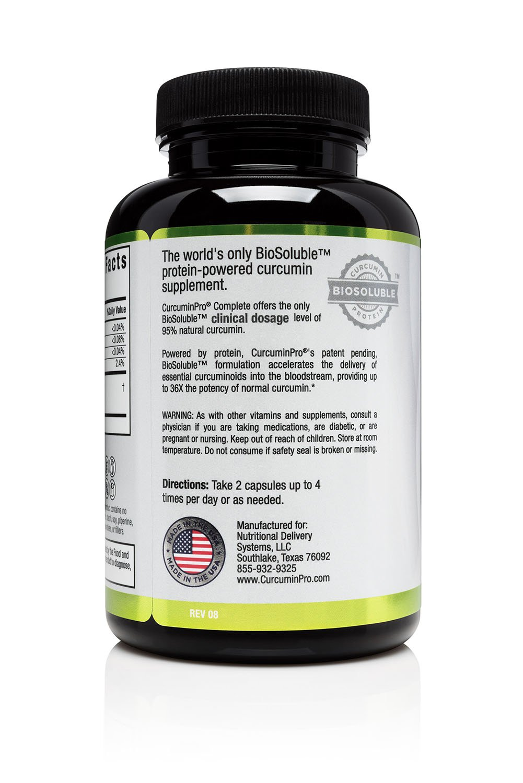 Amazon Curcuminpro Complete Vegan Biosoluble Protein Powered