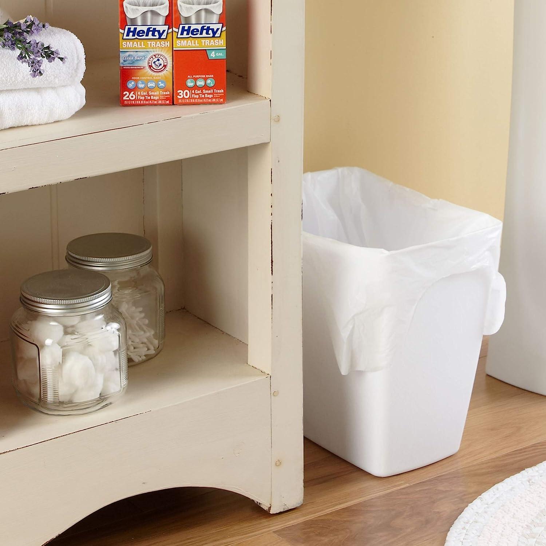 Lavender Sweet Vanilla Flap Tie Hefty Small Trash//Garbage Bags Odor Control