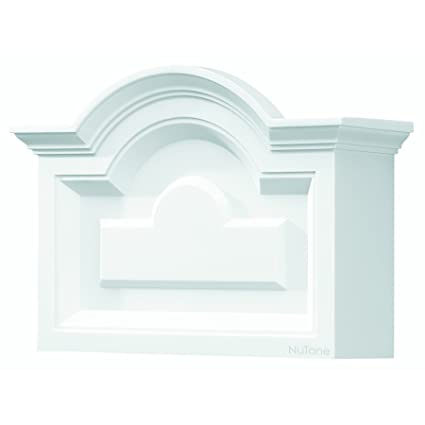 NuTone LA140WH Classic Arched Top Design Decorative Wired Two-Note ...