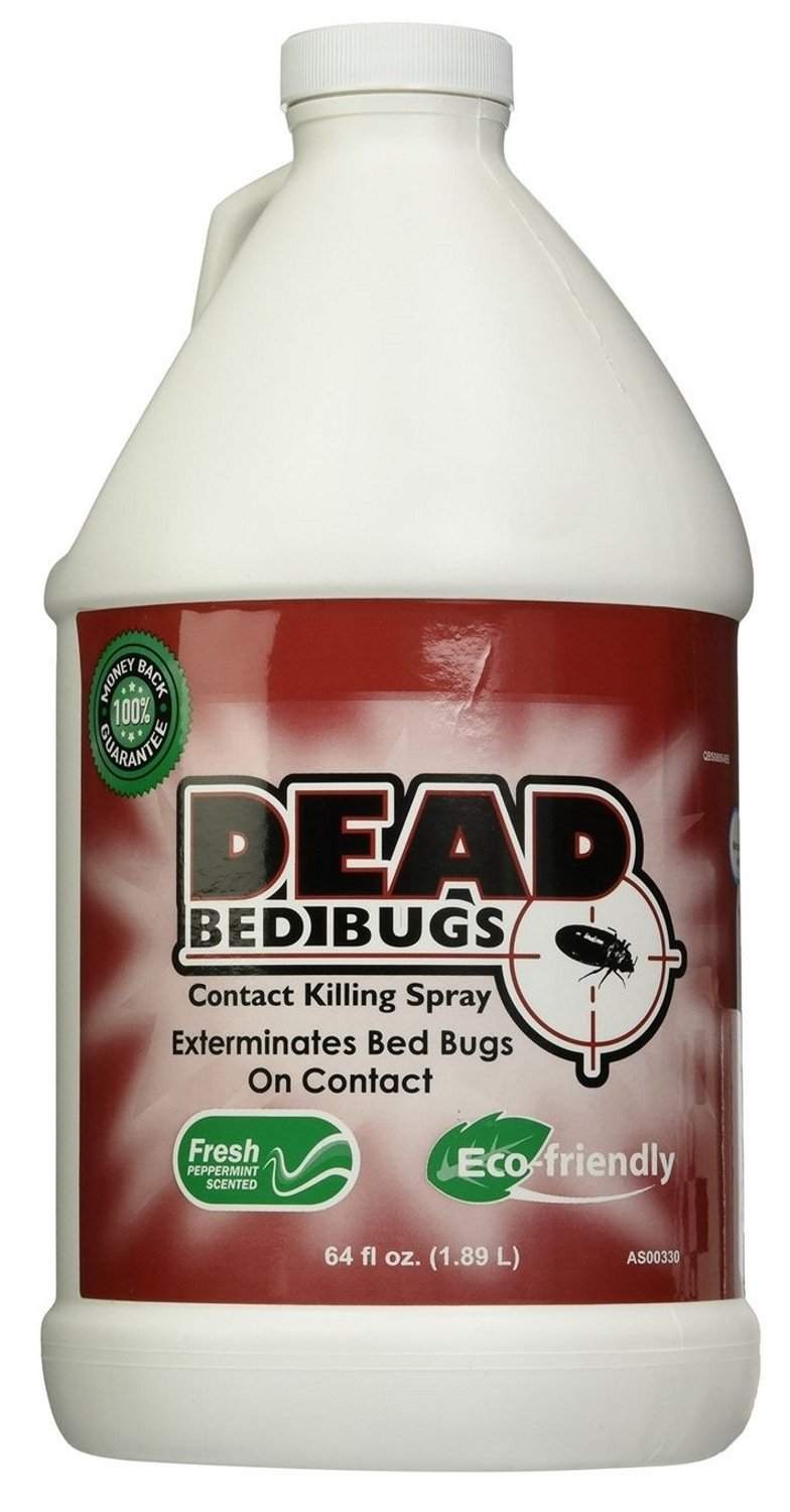 Dead Bed Bugs Contact Killing Bed Bug Spray, Safe - 32 oz