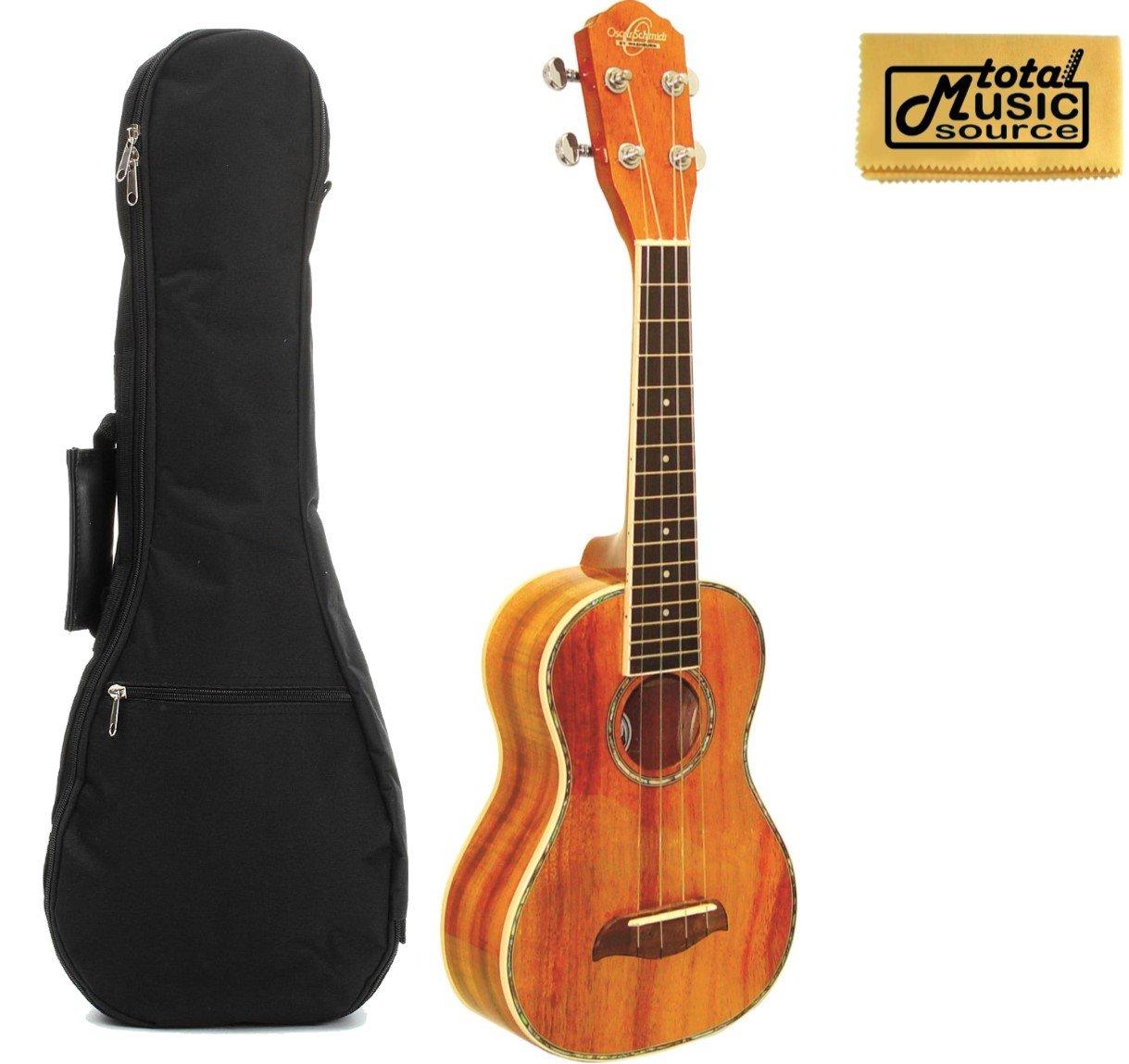 Oscar Schmidt Ou5 Koa Concert Ukulele Acoustic Electric Guitars Guitars & Basses