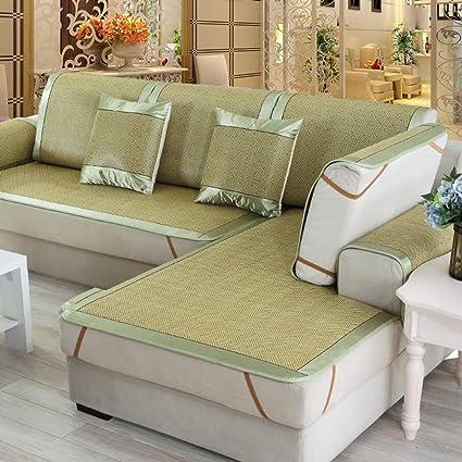 Amazon.com: TT&CC Rattan Sofa Towel,Summer mat Chaise Longue ...