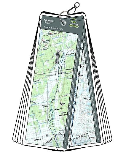 Amazon.com : Arkansas River Map Bundle - Colorado, 2 Map ...