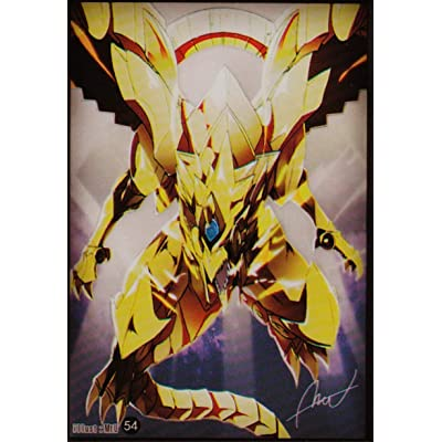 (100) Yu-Gi-Oh Small Size The Winged Dragon of Ra Card Sleeves #54 62x89 mm: Toys & Games