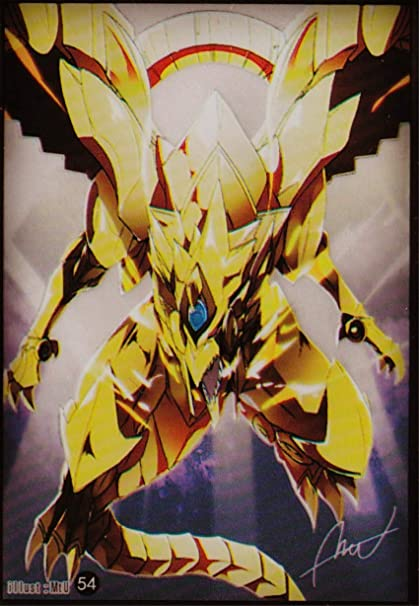 50 Yu-Gi-Oh Standard Size The Winged Dragon of Ra Card Sleeves