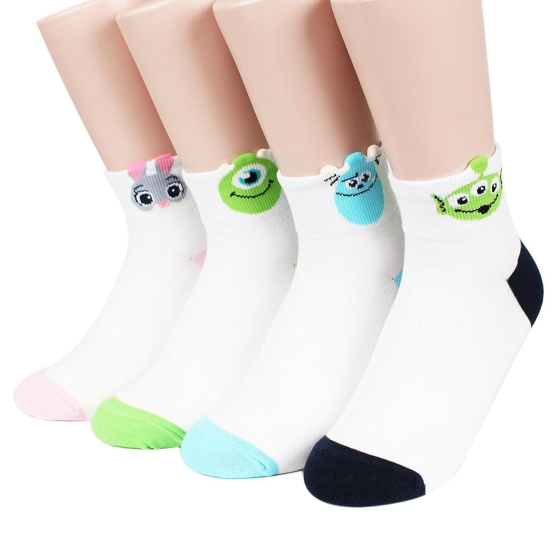 0c87d64d2bb Socksense Disney Pixar Character Series Women s Original Crew Socks -  Multicoloured -  Amazon.co.uk  Clothing