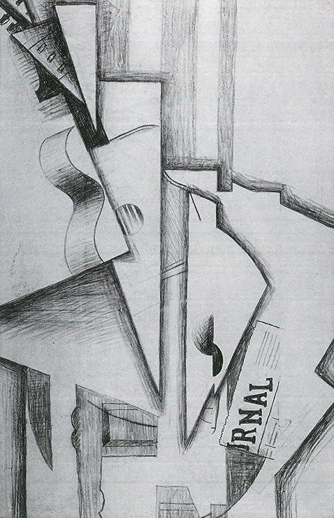 El Museo de salida - guitarra y periódico en un cuadro de Juan ...
