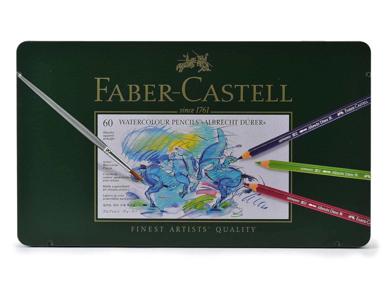 ファーバーカステル アルブレヒトデューラー 水彩色鉛筆  60色<缶入> 117560 並行輸入品   B005ZZP956
