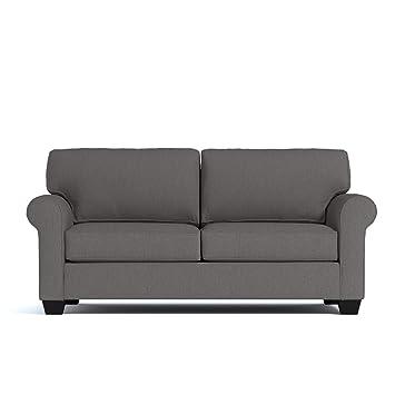 Magnificent Amazon Com Lafayette Apartment Size Sofa Chromium 62 X Short Links Chair Design For Home Short Linksinfo
