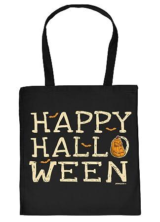 Halloween Tasche Coole Tragetasche Für Süßigkeiten Happy